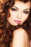 Portret van sexy vrouw Stock Foto's