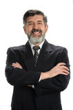 Portret van Spaanse Zakenman Stock Foto