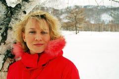 Portret van sportishvrouw Royalty-vrije Stock Afbeeldingen