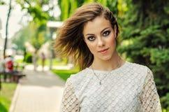 Portret van stedelijk meisje Royalty-vrije Stock Fotografie