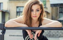 Portret van stedelijk meisje Royalty-vrije Stock Foto