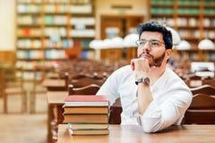 Portret van student stock afbeeldingen