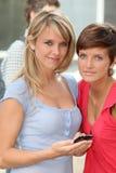 Portret van studentenmeisjes stock fotografie