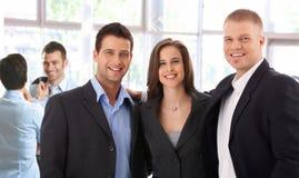 Portret van succesvol commercieel team Royalty-vrije Stock Foto's