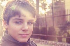 Portret van tiener Stock Afbeelding