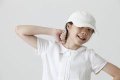 Portret van tiener stock fotografie
