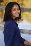 Portret van tiener het glimlachen Stock Afbeelding