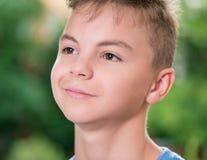 Portret van tienerjongen Stock Afbeelding