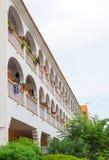 Portret van tropisch flatgebouw Royalty-vrije Stock Foto