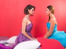 Portret van twee jonge sexy vrouwen Royalty-vrije Stock Fotografie