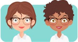 Portret van twee vrouwenondernemer royalty-vrije stock afbeeldingen