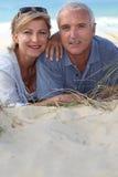 Portret van vakantiegangers Stock Afbeeldingen