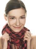 Portret van vrij jonge vrouw Royalty-vrije Stock Fotografie