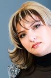 Portret van vrouw Royalty-vrije Stock Afbeeldingen