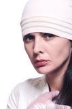Portret van vrouw 2 Royalty-vrije Stock Afbeeldingen