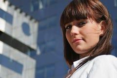 Portret van vrouw Royalty-vrije Stock Foto