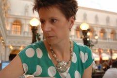 Portret van vrouw Stock Foto's