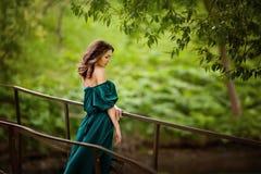Portret van vrouw Stock Fotografie