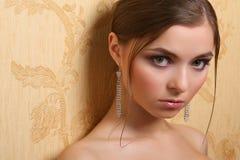 Portret van vrouw stock foto