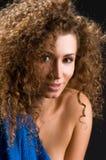 Portret van vrouw in studio royalty-vrije stock foto's