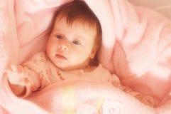 Portret van weinig baby Royalty-vrije Stock Afbeelding