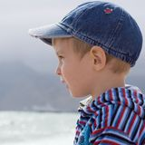 Portret van weinig jongen Stock Foto