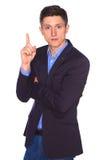 Portret van zakenman royalty-vrije stock foto