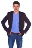 Portret van zakenman royalty-vrije stock fotografie