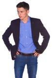 Portret van zakenman royalty-vrije stock afbeelding