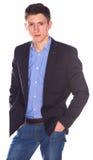 Portret van zakenman royalty-vrije stock foto's