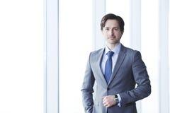 Portret van zakenman Stock Foto