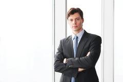 Portret van zakenman Stock Afbeelding