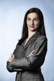 Portret van zekere onderneemster Royalty-vrije Stock Foto's