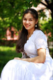 Portret van zigeunermeisje Royalty-vrije Stock Afbeeldingen