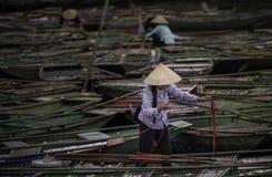 Portret Vietnam Stock Afbeelding
