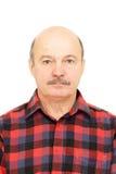 Portret voor paspoort Royalty-vrije Stock Afbeeldingen