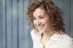 Portret Włoska Szczęśliwa kobieta obraz royalty free