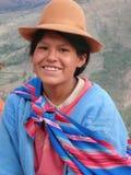 Portret w naturalnym świetle w Peru zdjęcia stock
