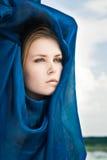Portret w niebie Zdjęcia Stock