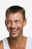 Portret w połowie dorosły mężczyzna obraz stock