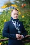 Portret w średnim wieku biznesmen Fotografia Royalty Free