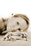 portret wellness piękno Obrazy Stock