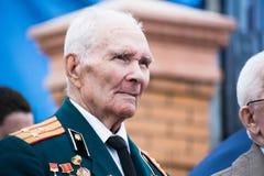 Portret weteran Drugi wojna światowa Zdjęcia Stock