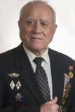 Portret weteran Wielka Patriotyczna wojna Fotografia Stock