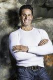 Portret Wiek Średni Mężczyzna Fotografia Stock