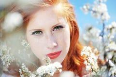 portret wiosna Zdjęcia Stock