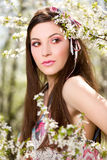 portret wiosna zdjęcia royalty free