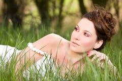 portret wiosna Obrazy Royalty Free