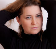 Portret of a woman Royalty Free Stock Photo