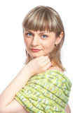 Portret of woman Royalty Free Stock Photography